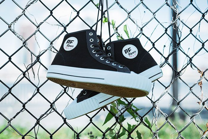 Pf Flyers Made In Use Centre Hi Black 3