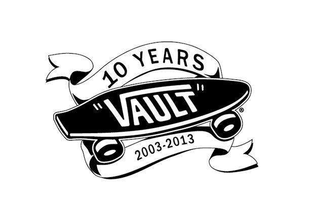 Vans Vault 10Year Logo