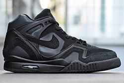 Nike Air Tech Challenge Ii All Black Thumb