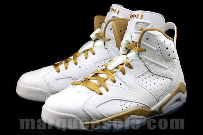 Air Jordan 6 Gold Medal 2 1