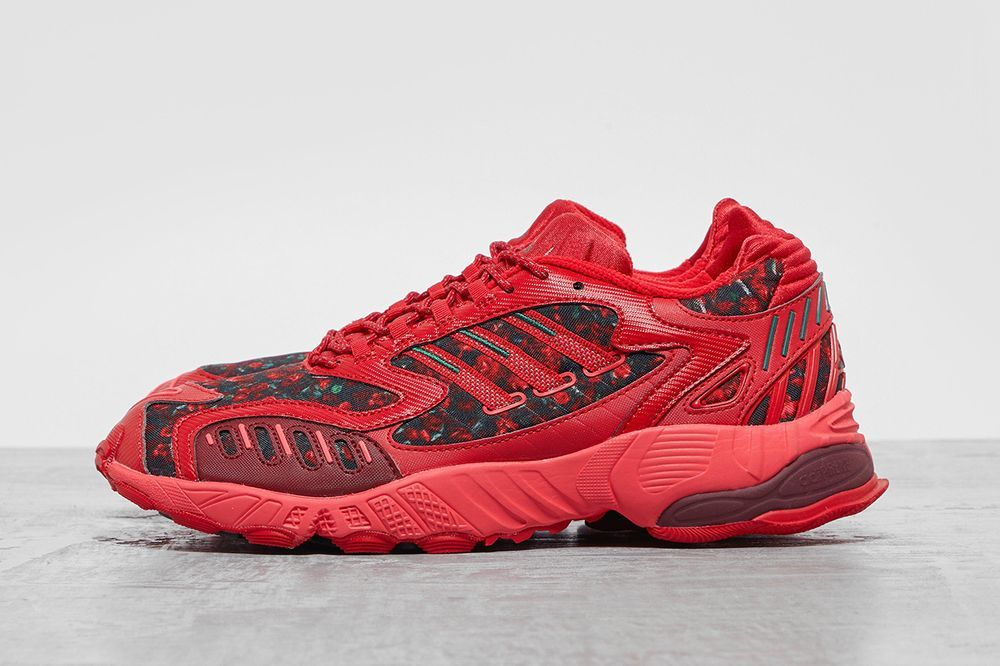 adidas Torsion TRDC Red Left