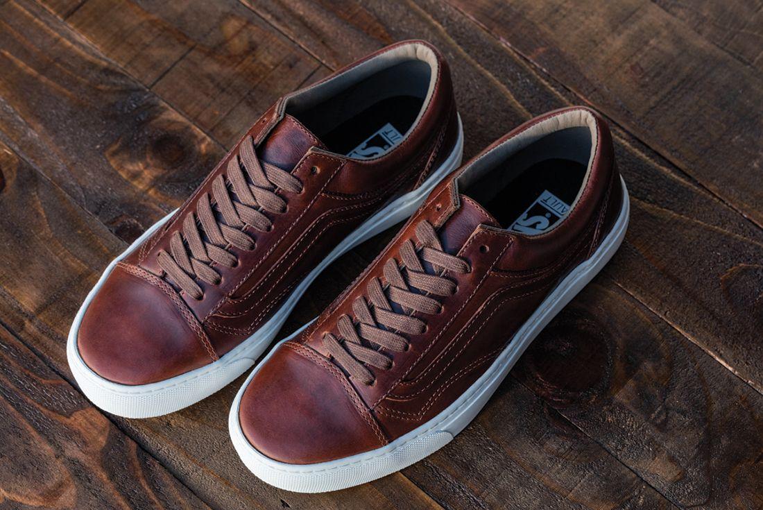 Horween Leather X Vans Vault Collection21