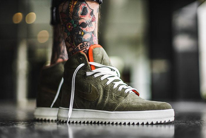 The Shoe Surgeon Air Jordan 1 Military Custom 1