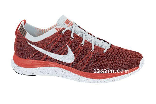 Nike Wmns Flyknit Lunar1 Orange 1