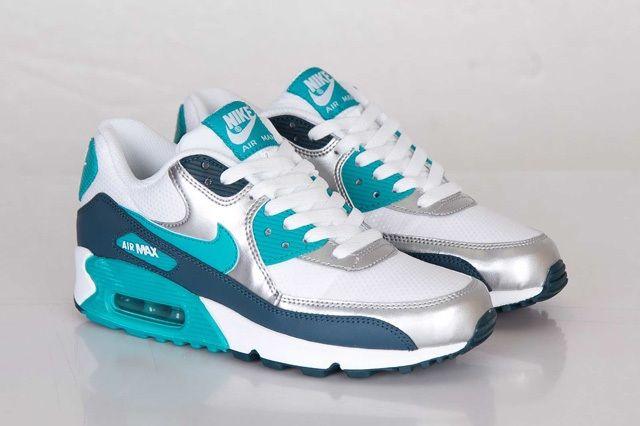 Nike Wmns Air Max 90 Turbo Green Night Shade 5