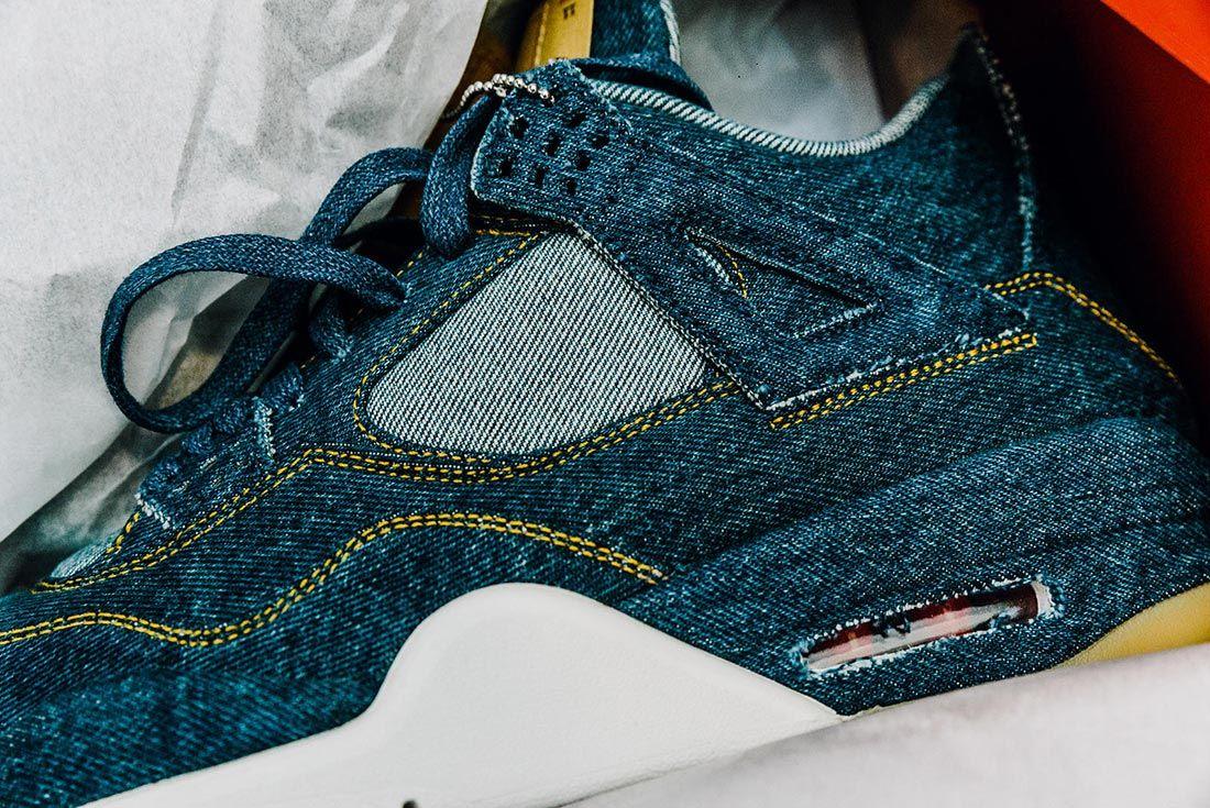 Levi's x Air Jordan 4 2018