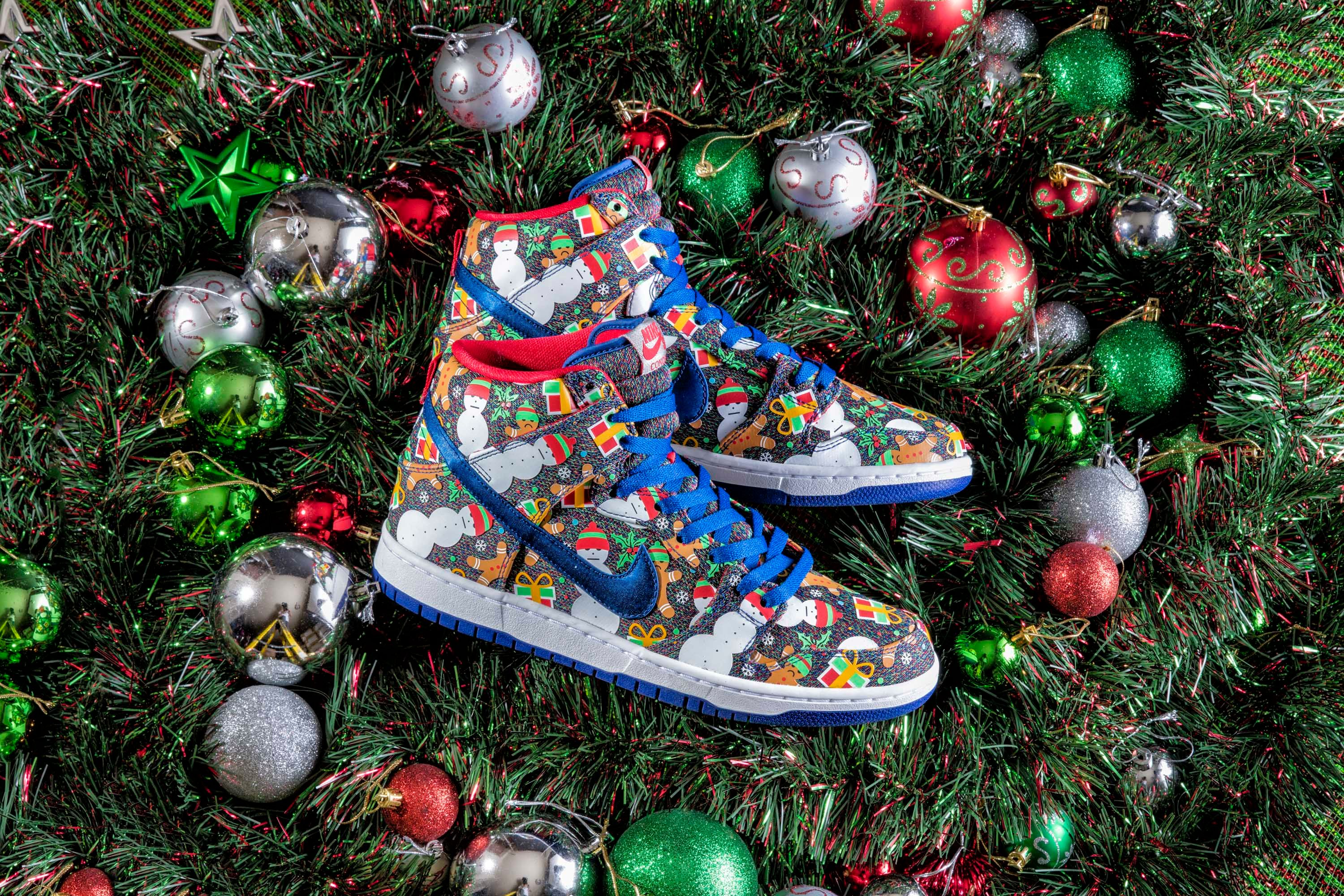Concepts x Nike SB Dunk High 'Ugly Sweater'