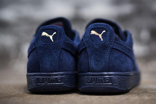 Puma Suede Navy 2