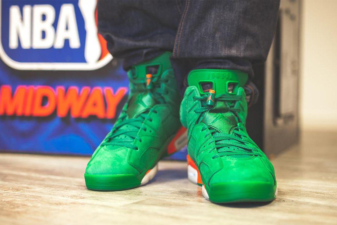 Gatorade X Air Jordan 6 Pine Green Release Date Sneaker Freaker 6