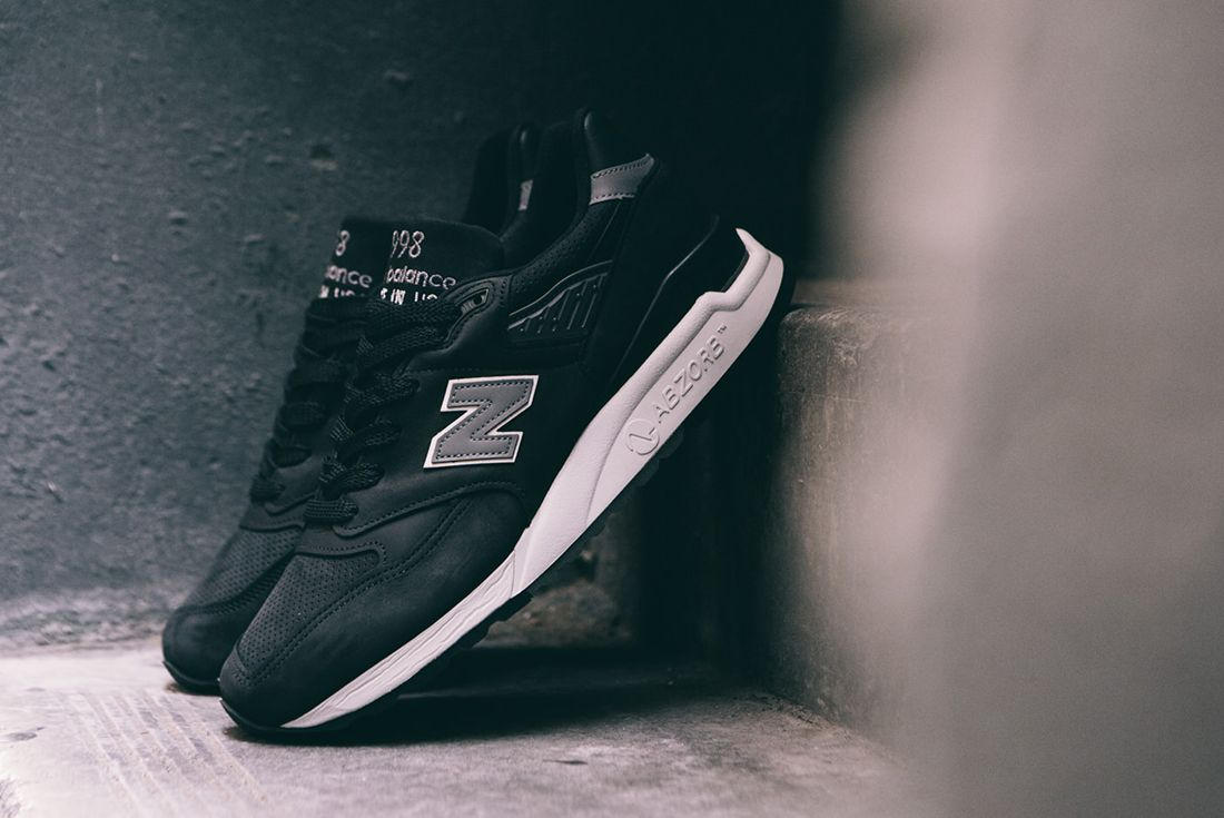 New Balance M998 Dpho Made In Usa Black 8