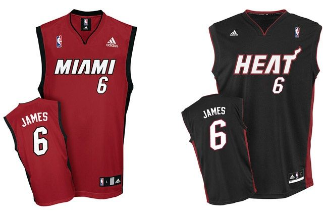 Lebron James Miami Heat Jersey Xl 1