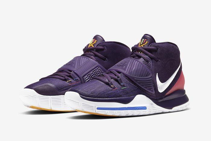 Nike Kyrie 6 Grand Purple Pair