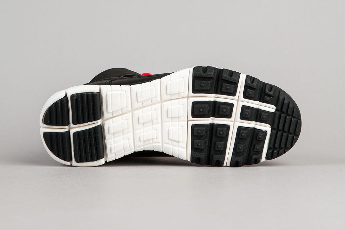 Nike Sb Dunk High Boots Black Sail 1