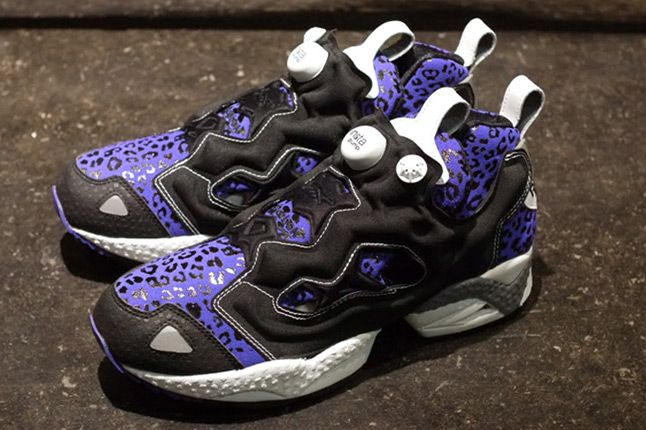 Reebok Insta Pump Fury Leopard Pack Purple Pair 1