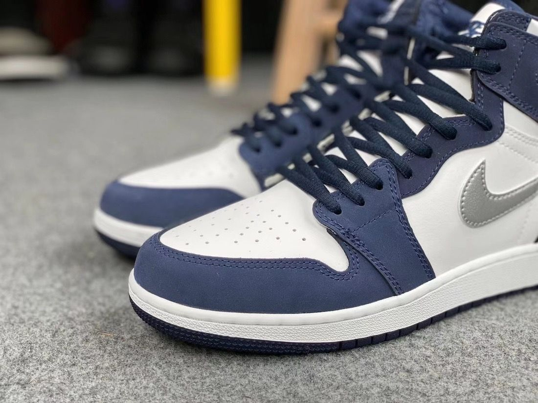 Air Jordan 1 CO.JP Midnight Navy Toe