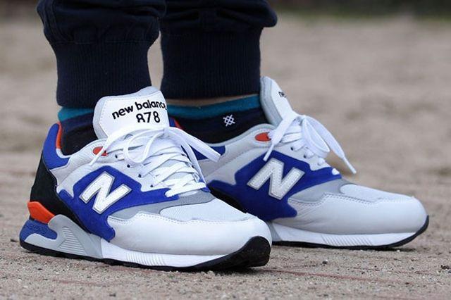 New Balance Ml 878 White Blue Orange 1