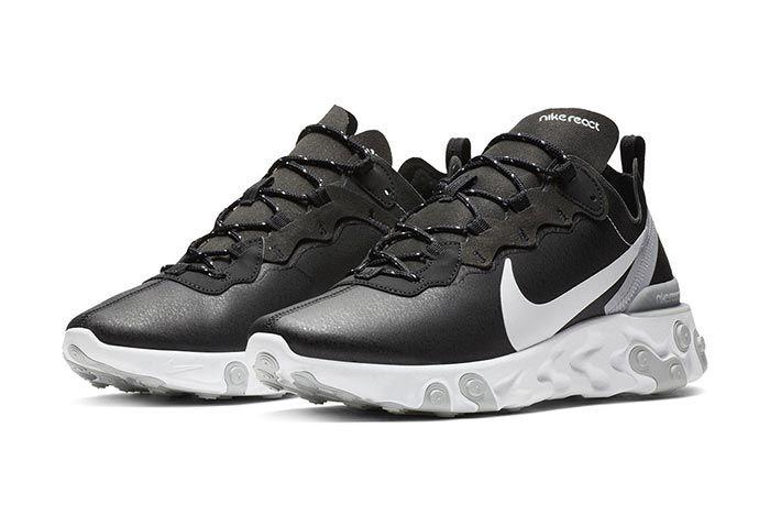 Nike React Element 55 Black 1