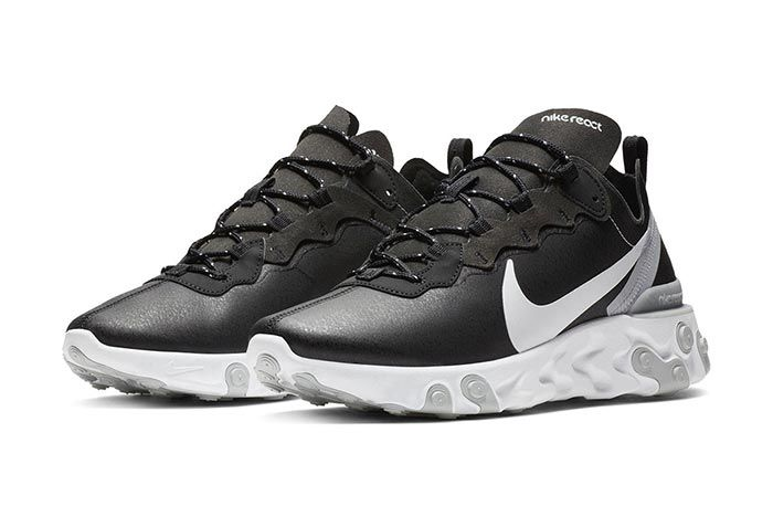 Nike React Element 55 Black 1