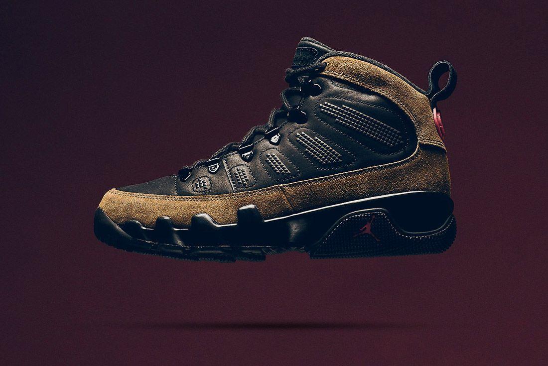 A Closer Look At The Air Jordan 9 Boot Nrg Olive9