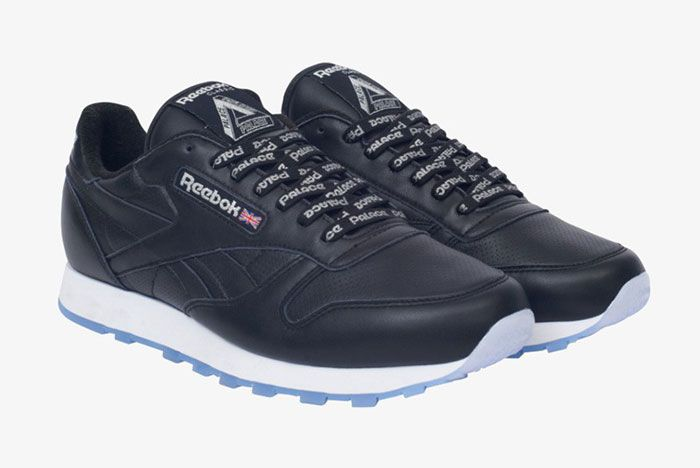 Reebok Palace Classic Leather Black Front Side