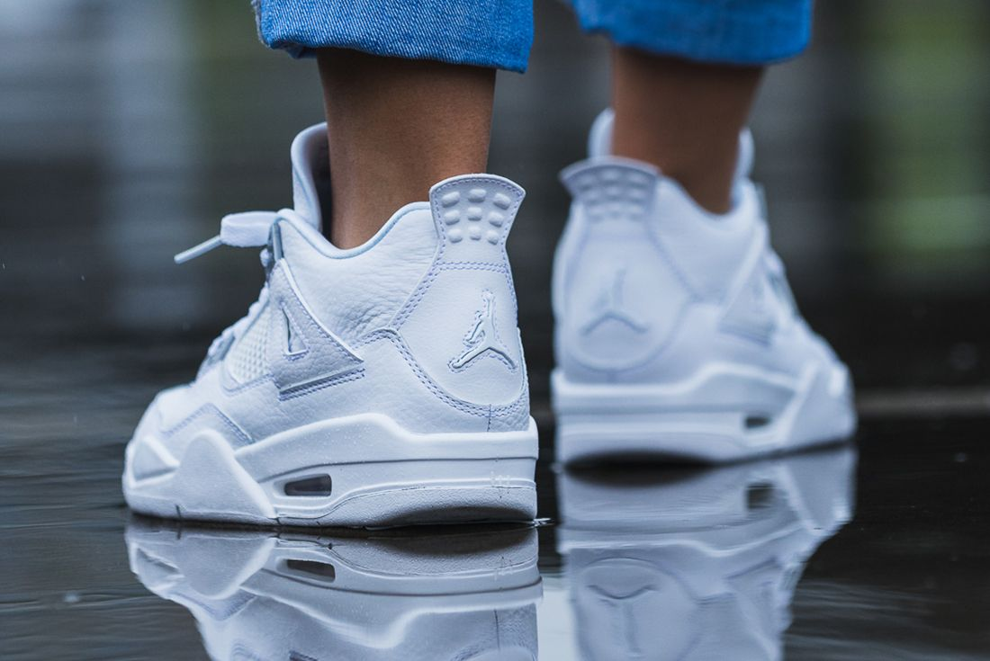 Up Close With The Air Jordan 4 Pure Money7