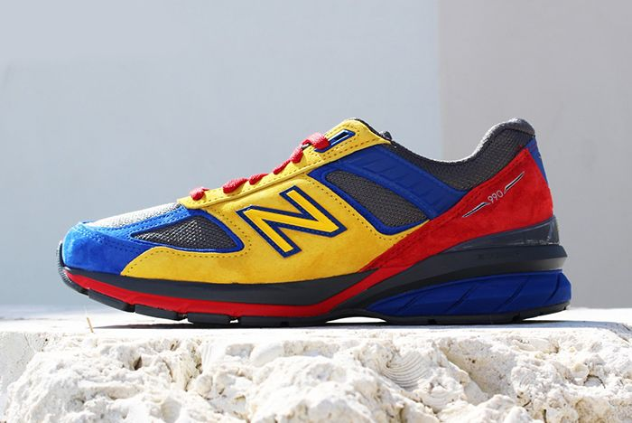 Shoe City Eat New Balance 990V5 Left