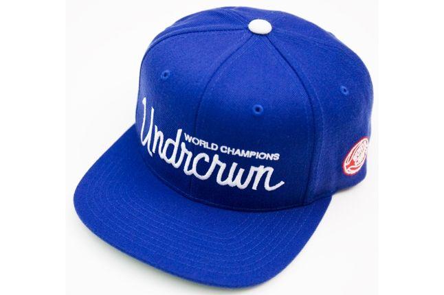 Undrcrwn X Starter Script Club Snapback Hats 3 1