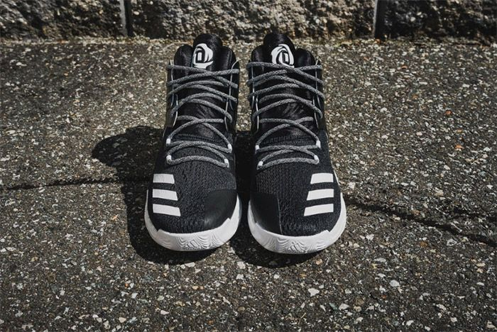 Adidas D Rose 7 Core Black White 3