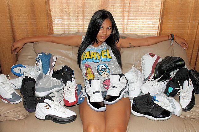 Ericka Female Air Jordan Collector 11 1
