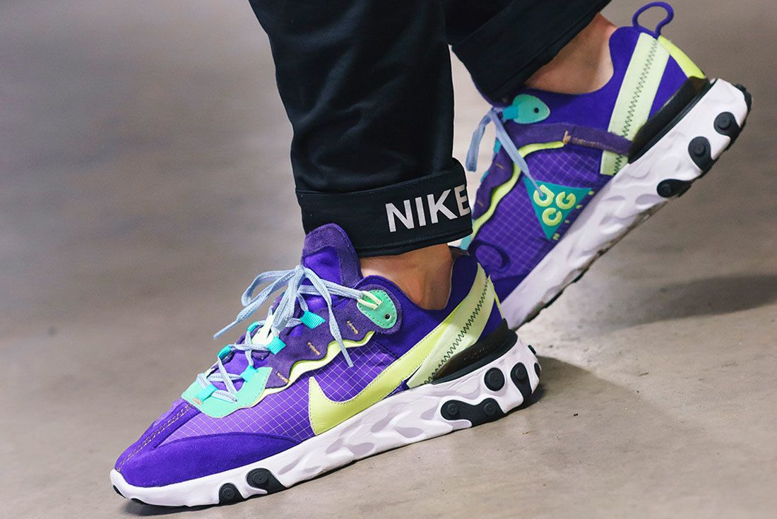 Bespoke Ind Nike React Element 87 Acg On Foot 4