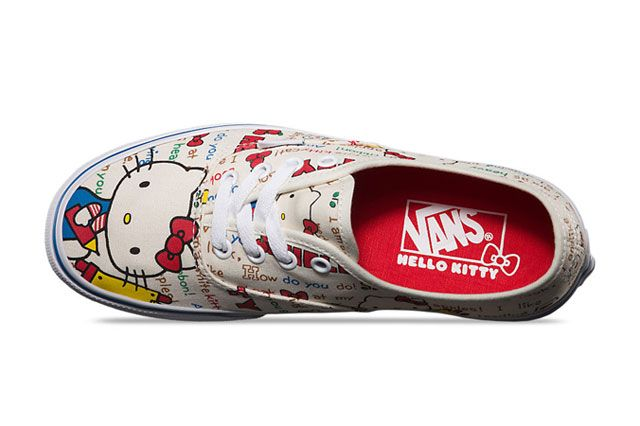 Hello Kitty X Vans Summer 2014 Collection Authentic 3