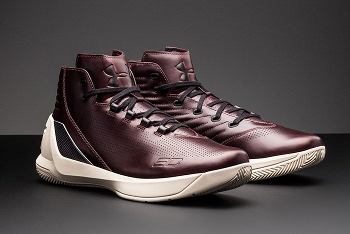Under Armour Curry Lux Oxblood 8