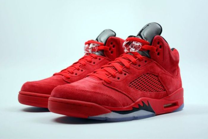 Air Jordan 5 Red Suede7
