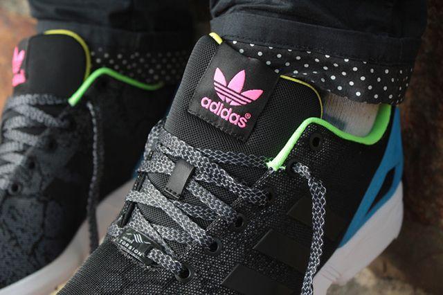 Adidas Originals Zx Flux Reflective Snake Pack 3
