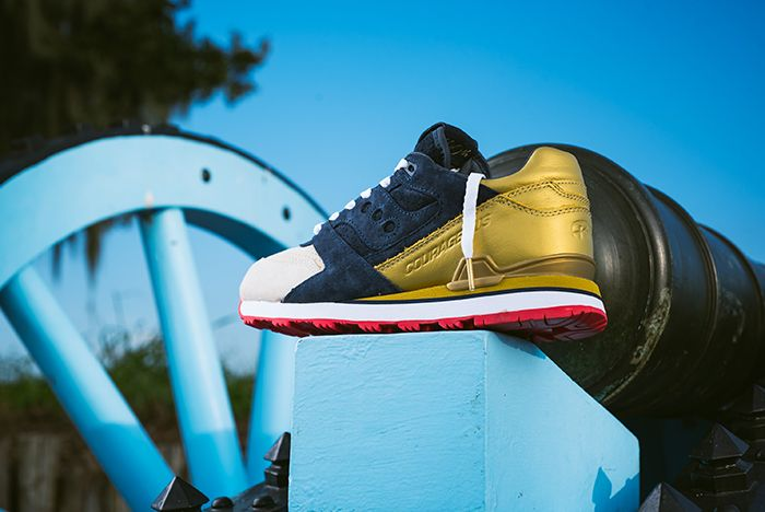 Sneaker Politics X Saucony Courageous The Jackson