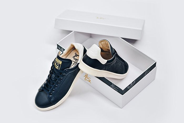 Adidas Stan Smith Leather Reconstructed White Black 6
