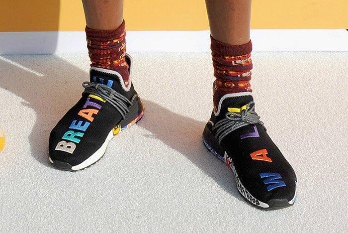 Adidas Pharrell Williams Hu Nmd Black Multicolour 3