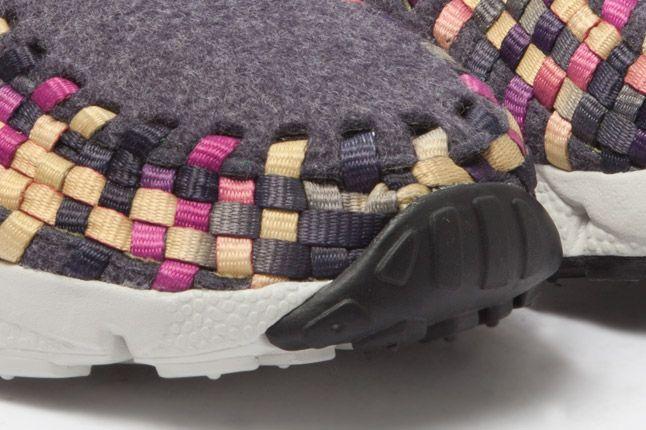 Nike Footscape Woven Chukka Gold Purple Wool Toes 1