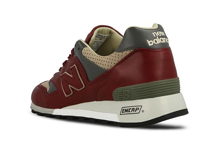 New Balance 577 Made In England Burgundy 6