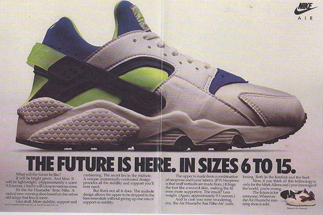 Nike Air Huarache Vintage Advert3 1
