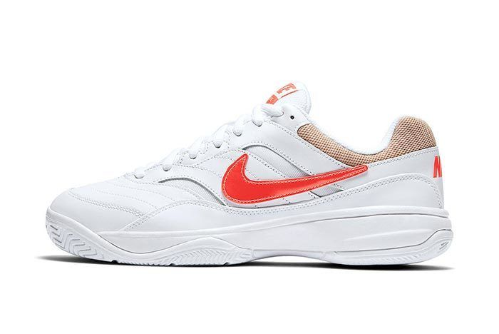 Nikecourt Court Lite Orange And Tan 2