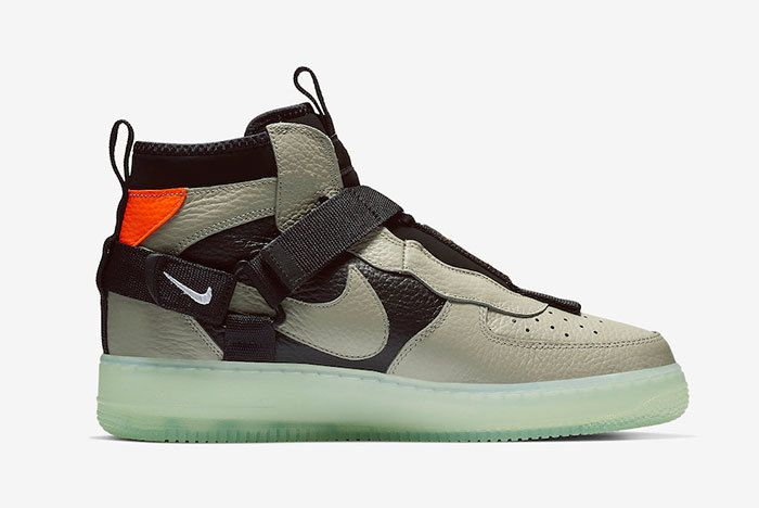 Nike Air Force 1 Mid Utility Spruce Fog Aq9758 300 Release Date Price 2