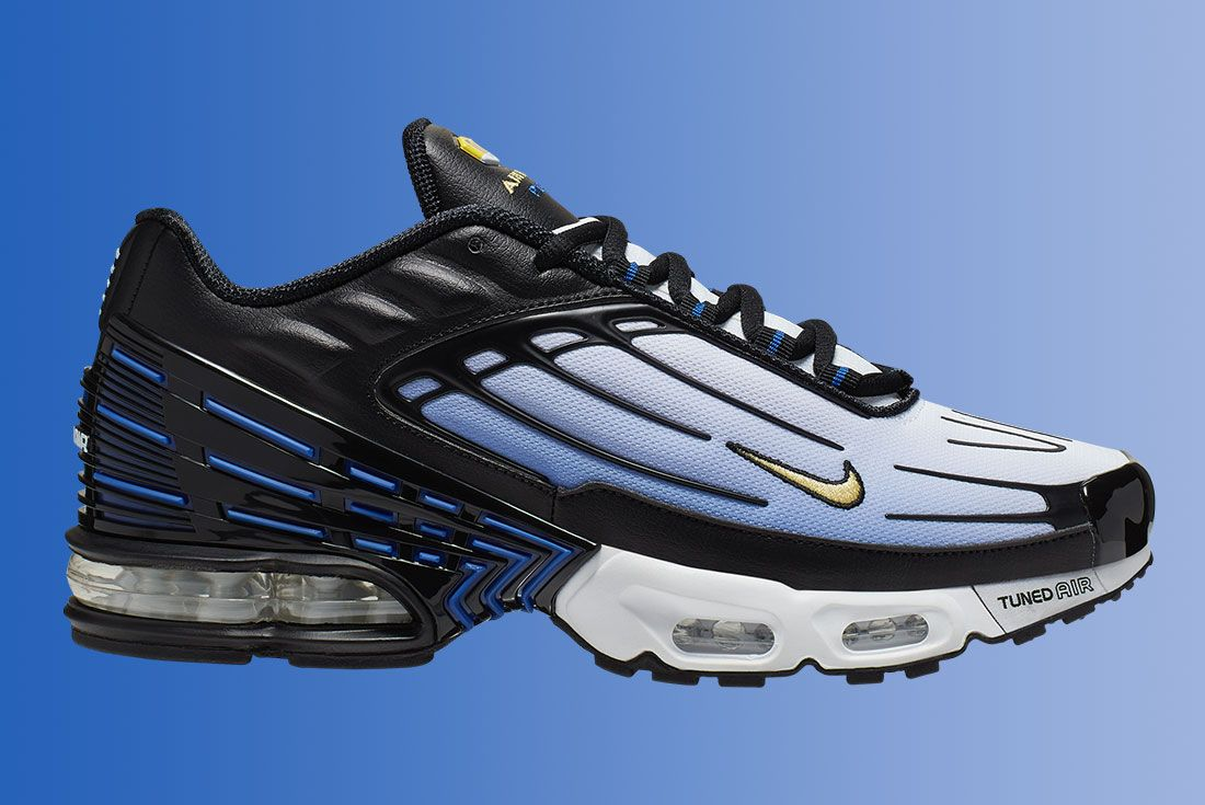 Nike Air Max Plus 3 Hyper Blue Lateral