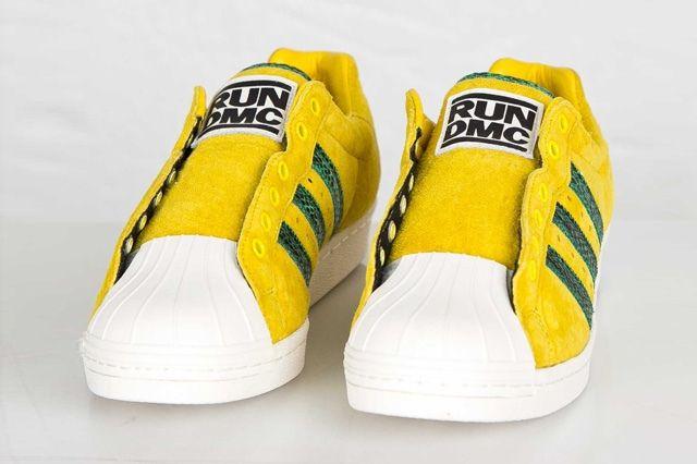 Adidas Ultrstar 80S Yellow Green 3