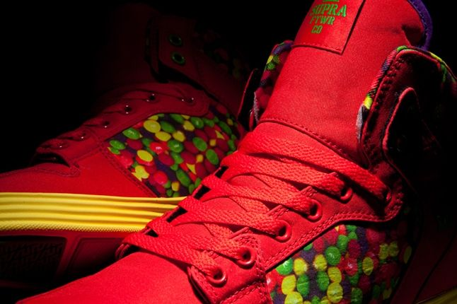 Lilwayne Supra Vice Skittle Tongue Detail 1