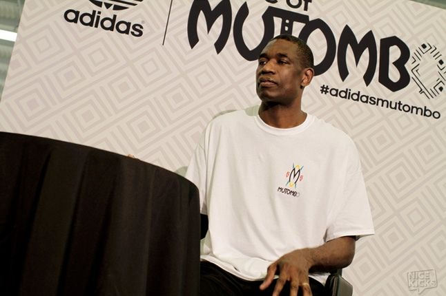 Adidas House Of Mutombo Signing Sneakercon 7