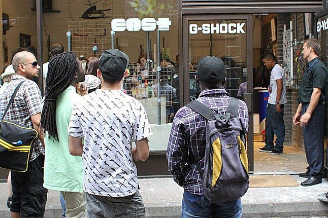 G Shock East London Store Opening 1 1