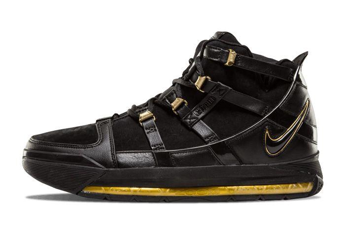 Nike Zoom Lebron 3 Black Gold Sneaker Freaker 5