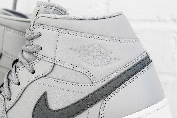 Air Jordan 1 Mid Cool Grey 2