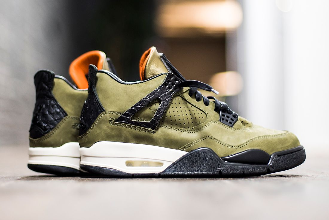 The Shoe Surgeon Reveals Undftd Inspired Air Jordan 4 Custom3